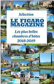 Sélection plus belles chambres d'hôtes Figaro Magazine